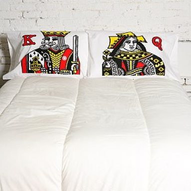King and Queen Pillowcase Set