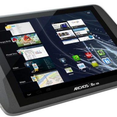 Archos 80 G9 Turbo ICS 250GB 8-Inch Tablet