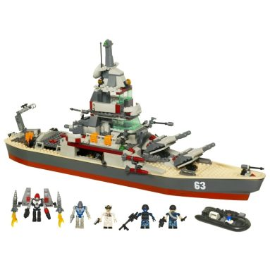 Battleship U.S.S. Missouri Set