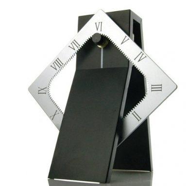 Table Desk Shelf Clock Modern Design