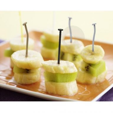 18 installed New Style Creative Nails fruit fork