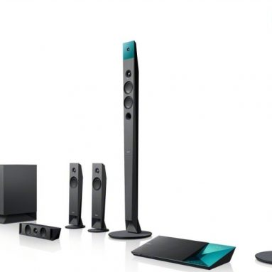 Sony 5.1 Channel 3D Blu-ray Disc Home Theater System