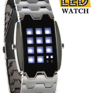 Japanese Inspired White LED Watch