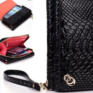 Women's Wallet Wrist-let Lady Bag for HTC Rider