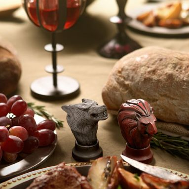 Game of Thrones Map Marker Salt and Pepper Shakers