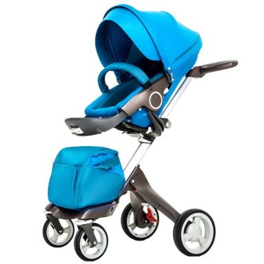 Stroller for Infant and Toddler Damping Vibration Convertible Baby Carriage Luxury