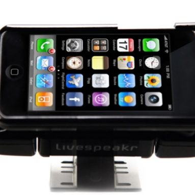 Ultra Portable Speaker System for iPhone and iPod Touch