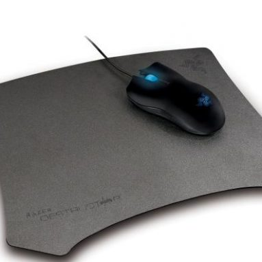 Razer gaming mouse and pad