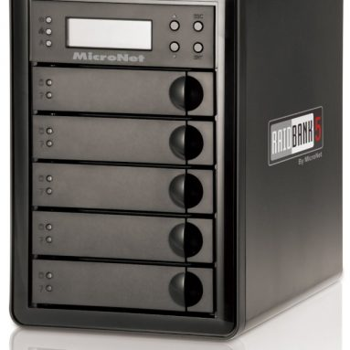 20TB 5-Bay USB 3.0 Hard Drive