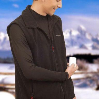 Unisex Heated Fleece Vest