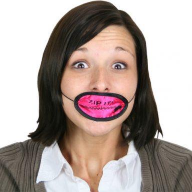 Zip It Face Mask