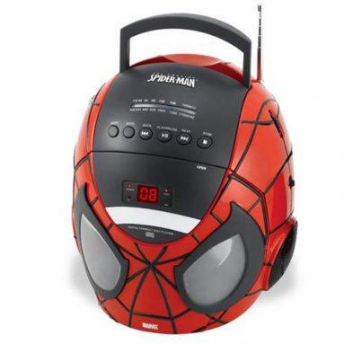 Spider-Man CD Boombox with AM/FM Radio