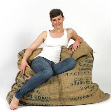 Coffee Fellow bean bag