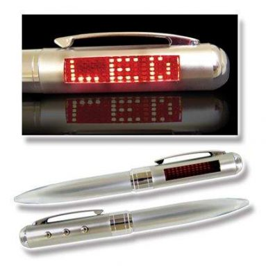 LED Scrolling Message Pen
