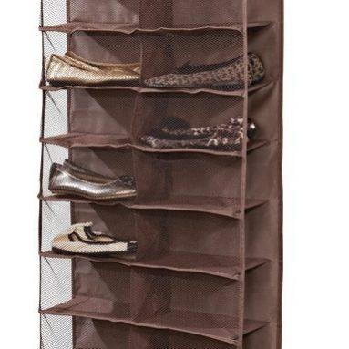 26 Shelf Over the Door Shoe Organizer