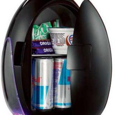 Egg Black Mini Fridge