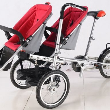 Baby Stroller Bike Carrier Bicycle 3 in 1