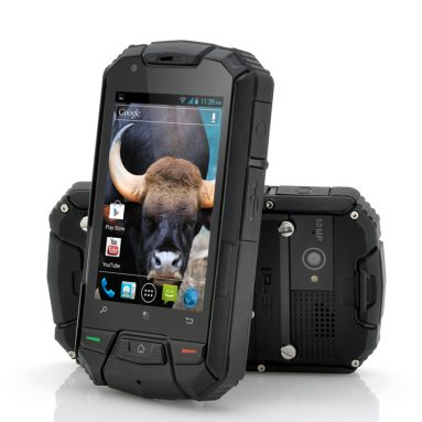 "3.5 Inch Ruggedized Android Dual Core Phone ""Gaur"""