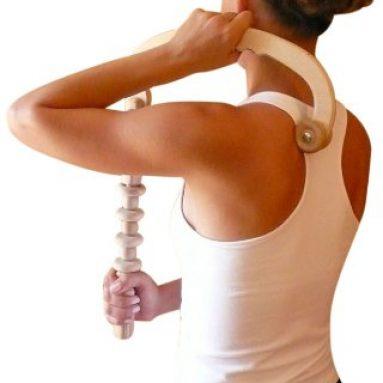 Back Massager with Massage Roller Stick