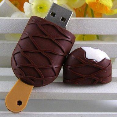 32GB Chocolate Swirl Ice Cream Bar USB Flash Drive