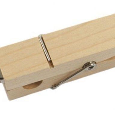 32GB Premium Wooden Clamp USB Flash Memory Drive