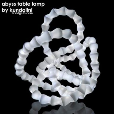 Abyss lamp by osko and deichmann