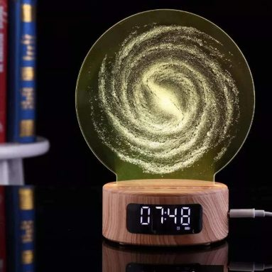 3D Acrylic Bluetooth Speaker Light