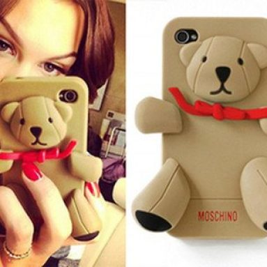 3D Cartoon Soft Shell Case for iPhone 5