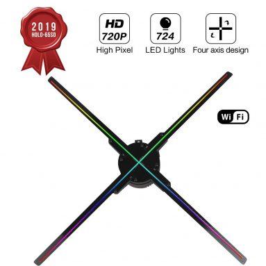 3D Hologram Projector Fan 65 with WiFi