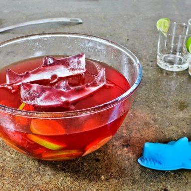 3D Shark Ice Mold