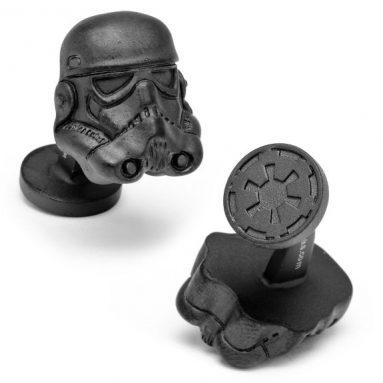 3-D Storm Trooper Helmet Cufflinks