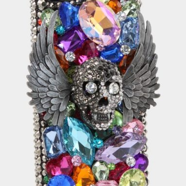 3D Swarovski Crystal Bling Case Cover for iphone 5S