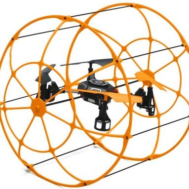 4 CH RC Quad Copter 2.4ghz Ready to Fly (Orange)