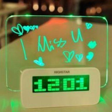 4 Port USB Hub and Multifunction Digital Clock