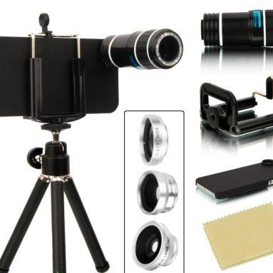 4 in 1 iPhone 5/5S Camera Lens Kit