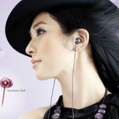Sony Jiennie BOUQUET In-Ear Headphones with Swarovski Zirconia