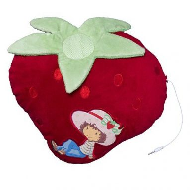 Strawberry Shortcake Speaker Pillow