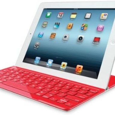 Ultrathin Keyboard Cover Red for iPad 2 and iPad (3rd/4th generation)