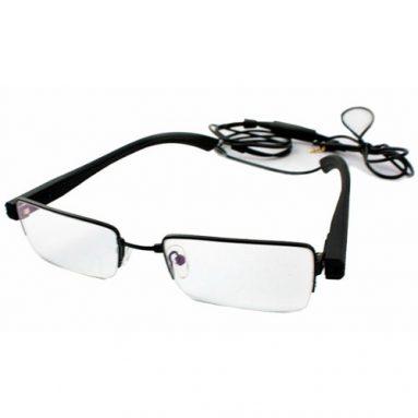 Clear Glasses Hidden Camera