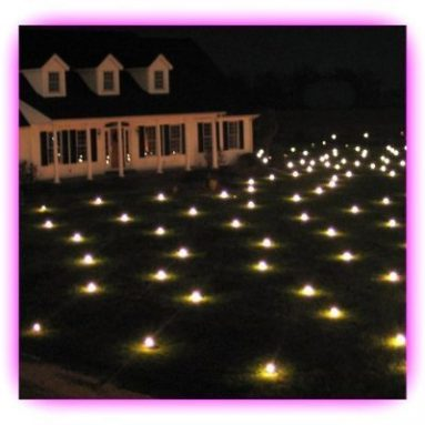 Lawn Lights Illuminated Outdoor Decoration