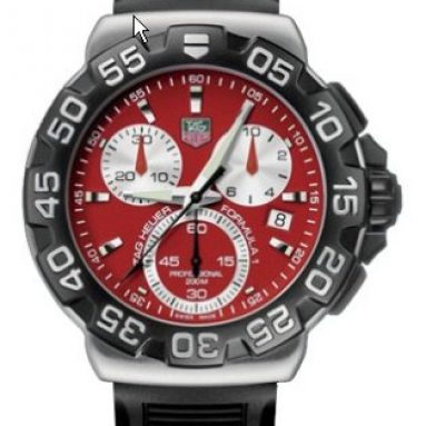 TAG Heuer Men's Formula 1 Chronograph Quartz Watch