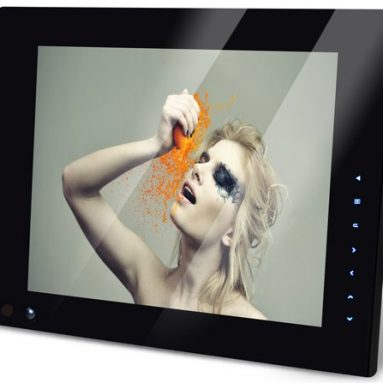 Deluxe NIX 12-Inch Hu-Motion Digital Picture Frame