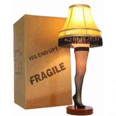 A Christmas Story 26″ Desktop Leg Lamp