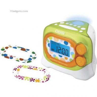 Crayola Digital Tune AM/FM Alarm Clock Radio