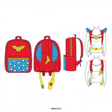 Wonder Woman Costume Backpack