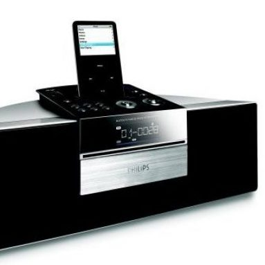 System with iPod Docking Station