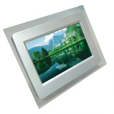 Digital Photo Frame With MP3 & MP4