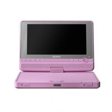 Portable DVD Player Pink