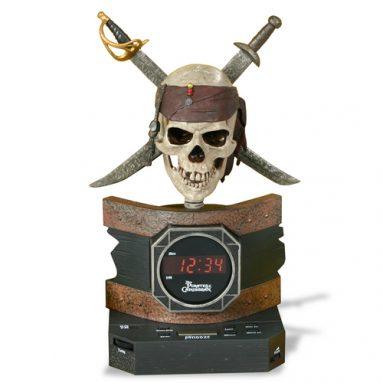 Pirates Alarm Clock Radio