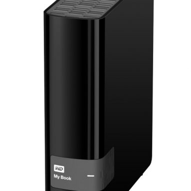 4TB USB 3.0 Hard Drive with Security, Local and Cloud Backup